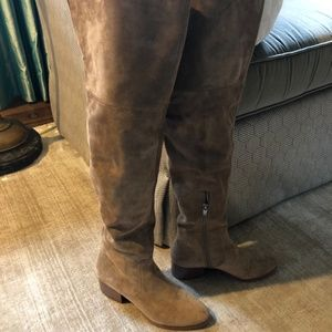 Via Spiga Ophira Over the Knee Suede Boots